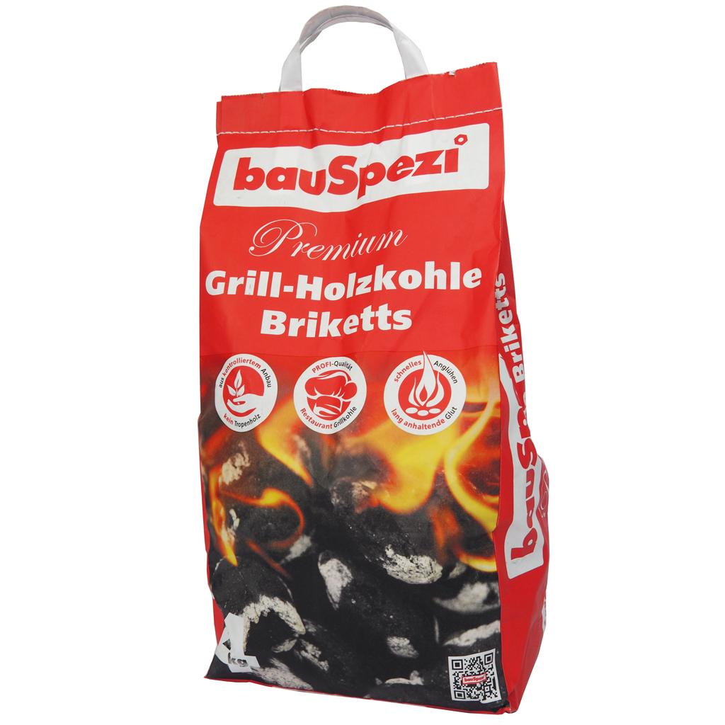bauSpezi Holzkohle Briketts