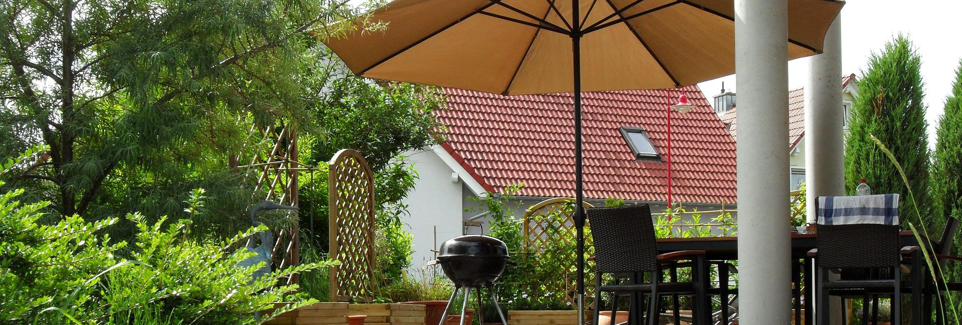 Sonnenschutz Fur Terrasse Und Balkon Bauspezi Baumarkt