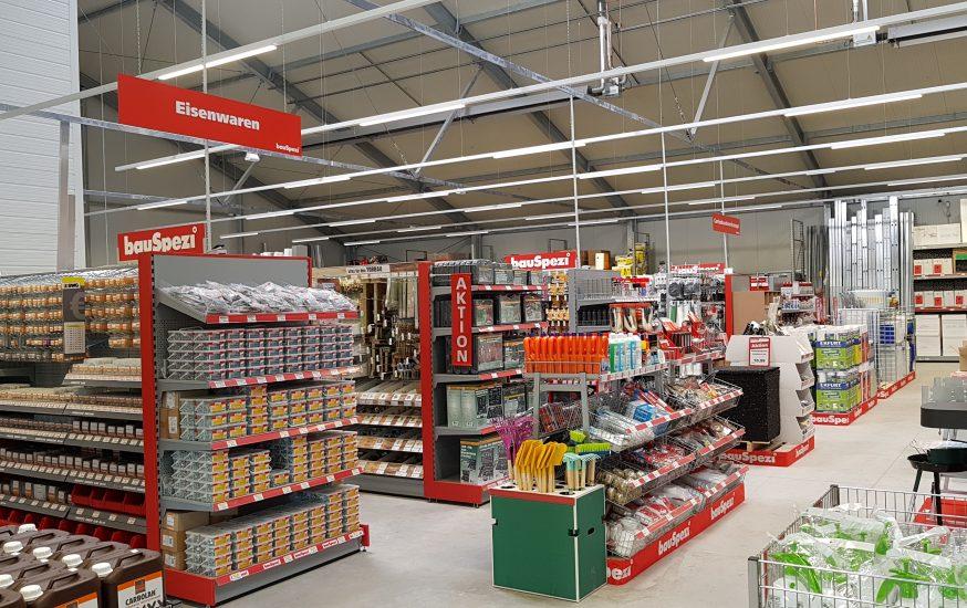 bauSpezi Bau- und Heimwerkermarkt eröffnet in Oppenheim