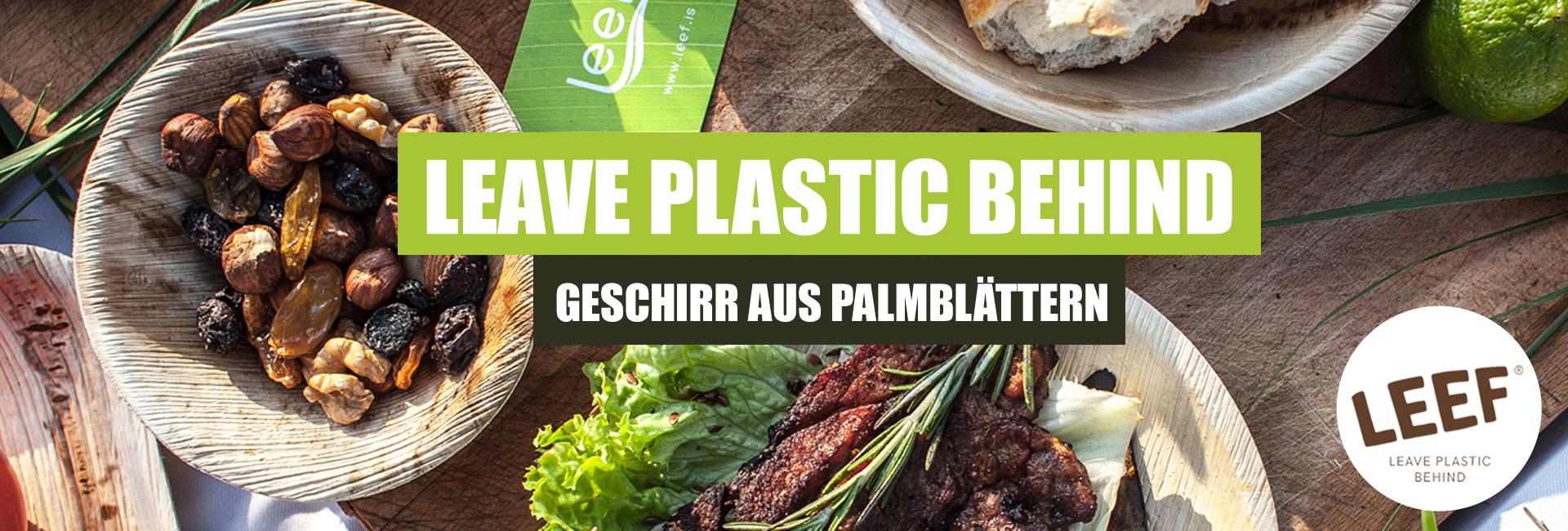 leave plastic behind