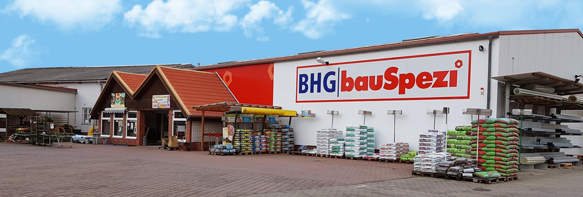 Umbau im bauSpezi Baumarkt in Gommern