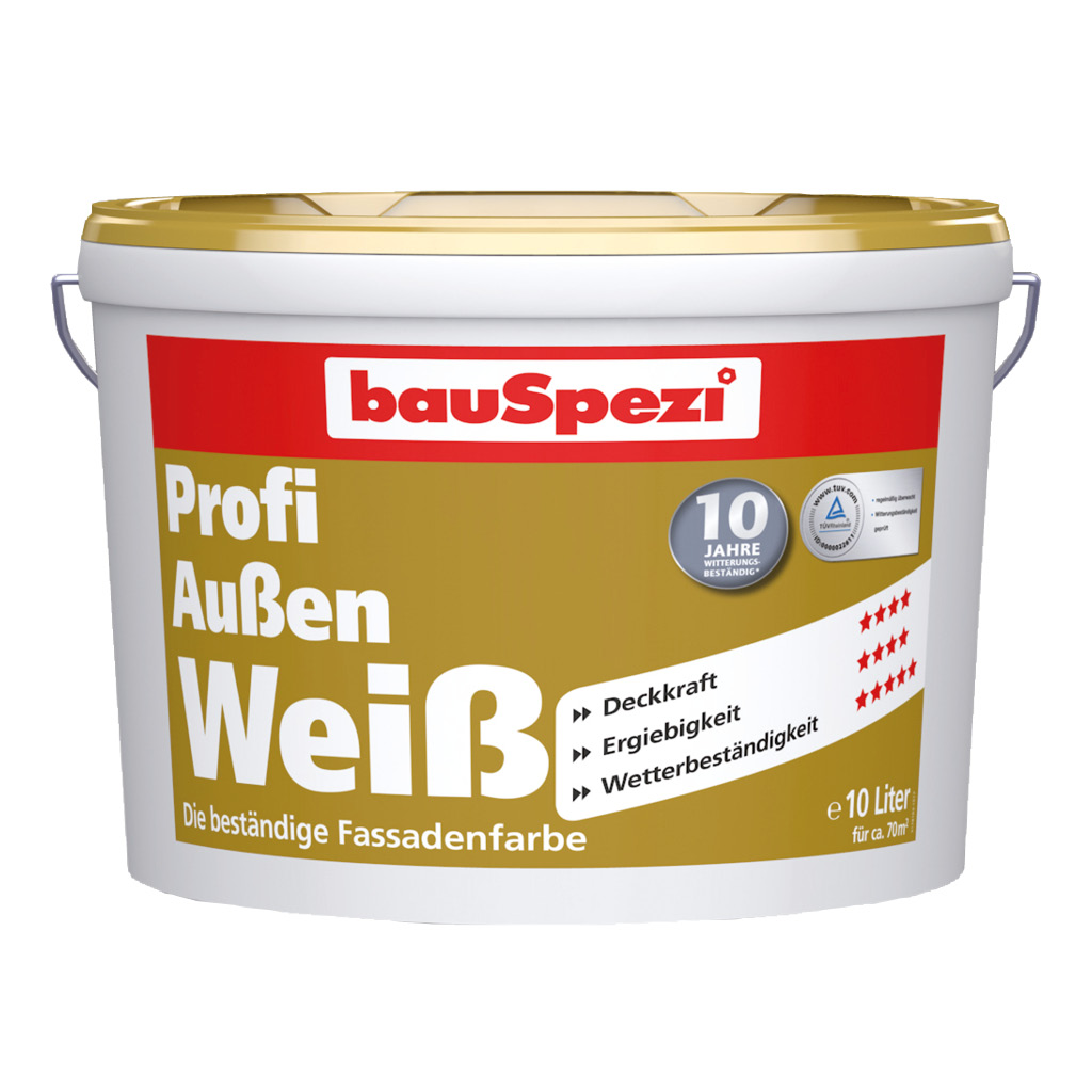 bauSpezi Profi Aussen Weiss